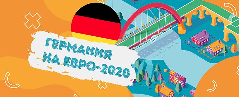 Сборная Германии на Евро-2020: выбираем ставки, изучаем статистику