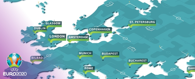 Все матчи Евро-2020 пройдут со зрителями, а города-организаторы будут окончательно утверждены 20 апреля