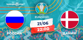 Прогноз на матч Евро-2020 Россия – Дания: решающая игра команды Черчесова