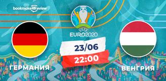 Прогноз на матч чемпионата Европы-2020 Германия – Венгрия: битва за выход в плей-офф