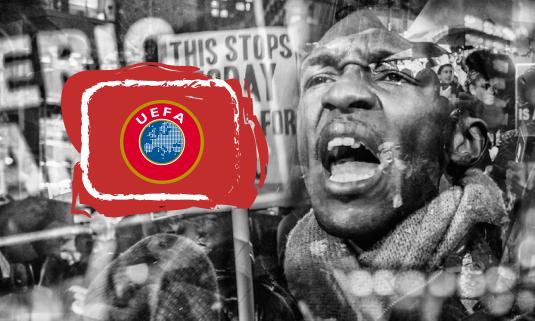 В УЕФА рассказали, как будут бороться с расизмом на матчах Евро-2020