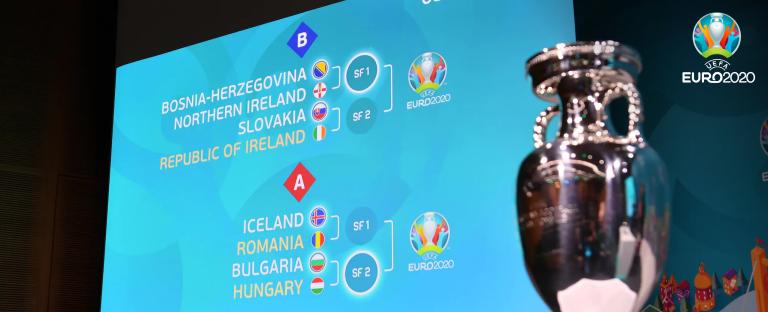 Объявлены новые даты стыковых матчей за места на Евро-2020