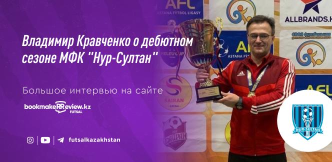 Главный тренер МФК «Нур-Султан»: не все игроки хотят становиться профессионалами