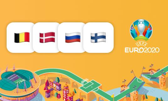 Группа B на Евро-2020: как команды играли раньше?
