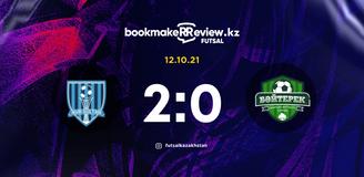 Revisão da partida Nur-Sultan – Bayterek 12.10.2021