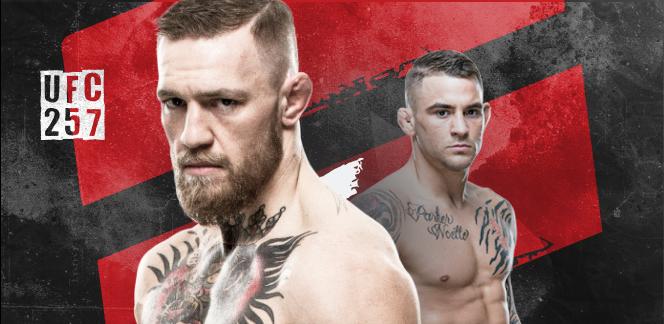 Конор Макгрегор – Дастин Порье: инфографика к главному бою UFC 257