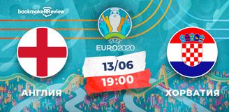 Прогноз на матч чемпионата Европы 2020 Англия – Хорватия: коэффициенты букмекеров движутся не в ту сторону