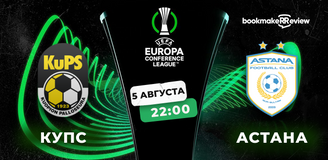 Прогноз на матч КуПС – «Астана»: очная дуэль вторых мест
