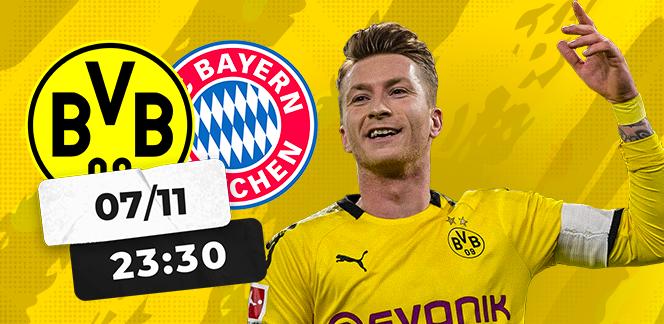 Прогноз на матч Бундеслиги «Боруссия» Дортмунд – «Бавария»: против Мюнхена нет приема