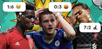 Английское безумие: выигравшие коэффициенты и неожиданные исходы в матчах АПЛ
