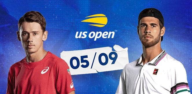 Алекс де Минаур – Карен Хачанов на US Open: прогноз и ставка на тотал геймов