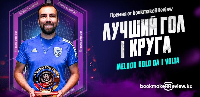 Веллозу из МФК «Атырау» получил награду за лучший гол первого круга