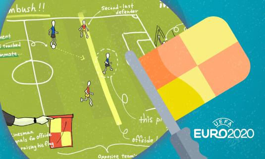 С Евро-2020 офсайд может определяться по новым правилам