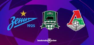 Букмекеры о российских клубах в Лиге чемпионов: шансы — только у «Зенита»