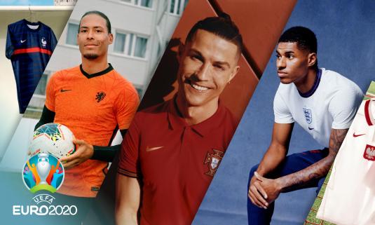 Nike показал формы национальных сборных для Евро-2020