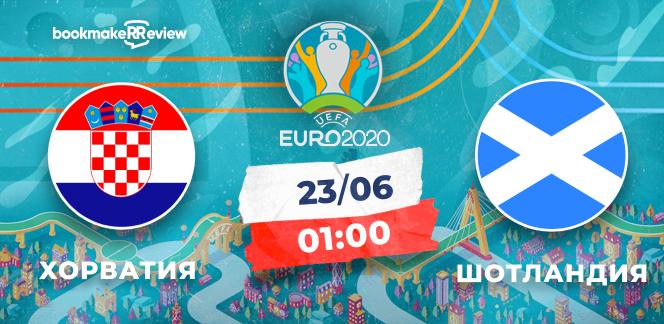 Прогноз на матч чемпионата Европы-2020 Хорватия – Шотландия: соперников устроит только победа