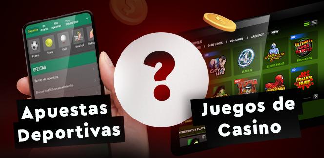 Apuestas Deportivas Vs Juegos de Casino ¿Cuál elegir?